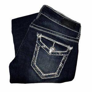 Daytrip Leo Embellished Bootcut Jeans 27R 31